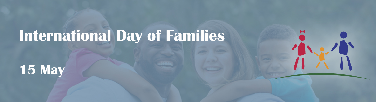web banner int day families