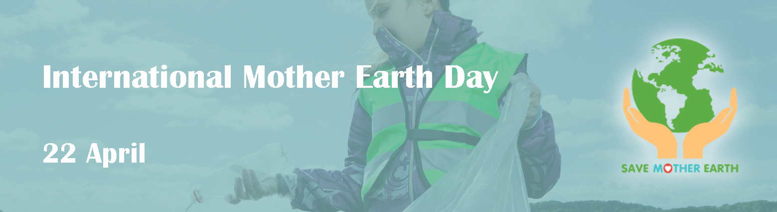 web banner mother earth day