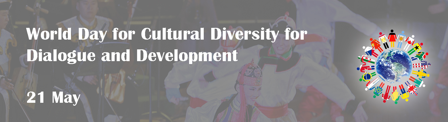 web banner world day for cultural diversity for dialogue development